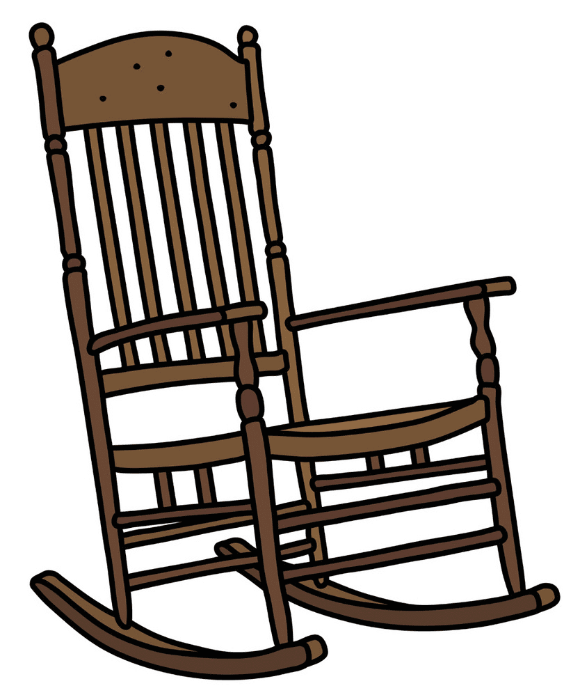 Rocking Chair clipart image
