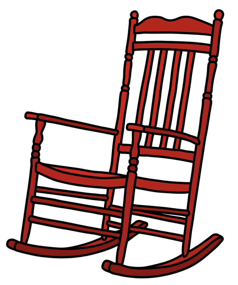 Rocking Chair clipart png free