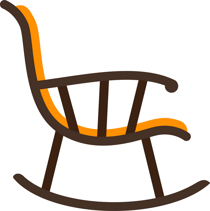 Rocking Chair clipart png image