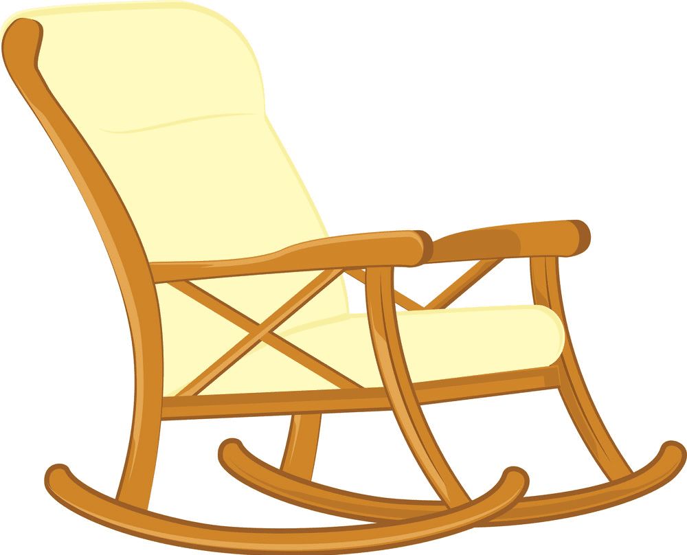 Rocking Chair clipart png images
