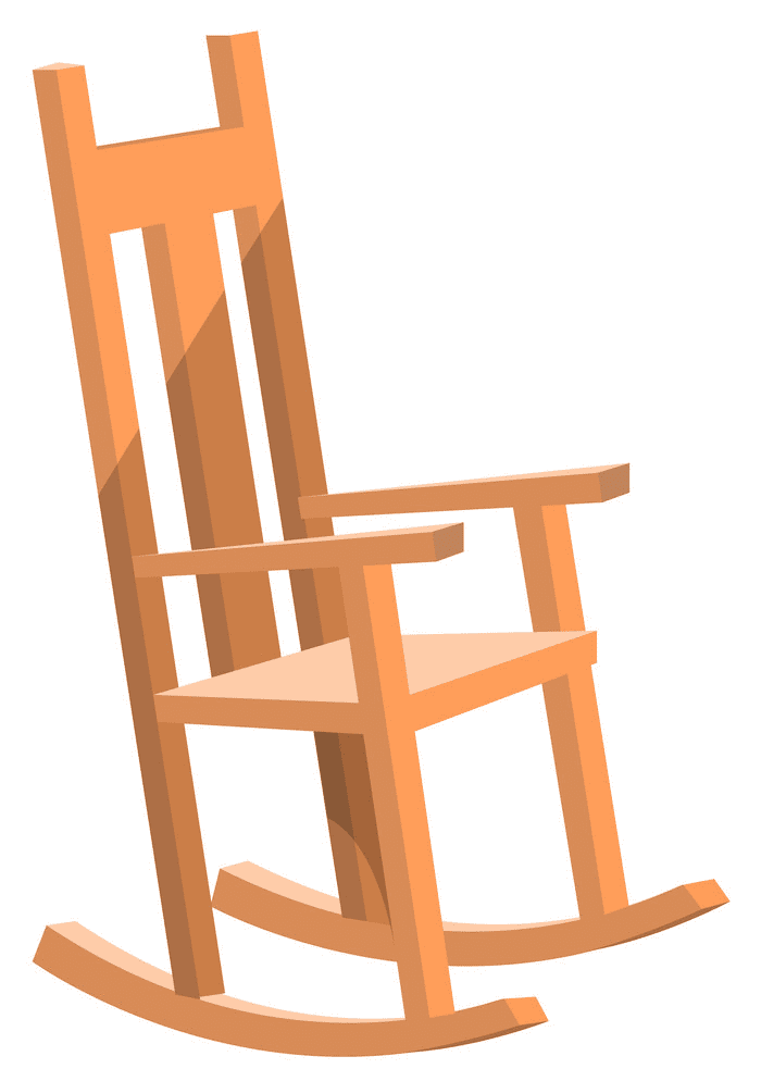 Rocking Chair clipart png