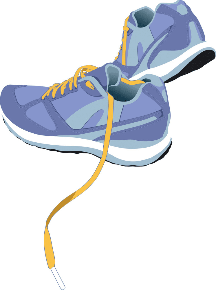 Running Shoes clipart for free