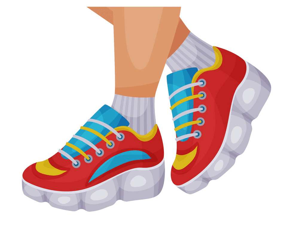 Running Shoes clipart free images