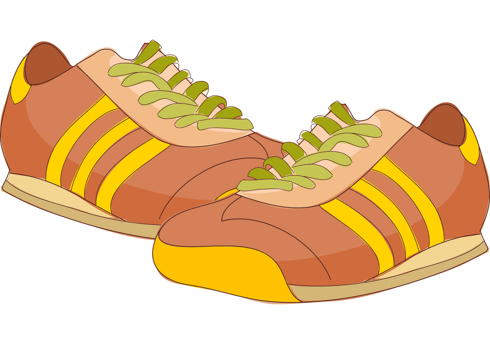 Running Shoes clipart free