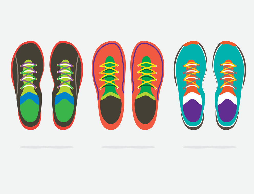 Running Shoes clipart image
