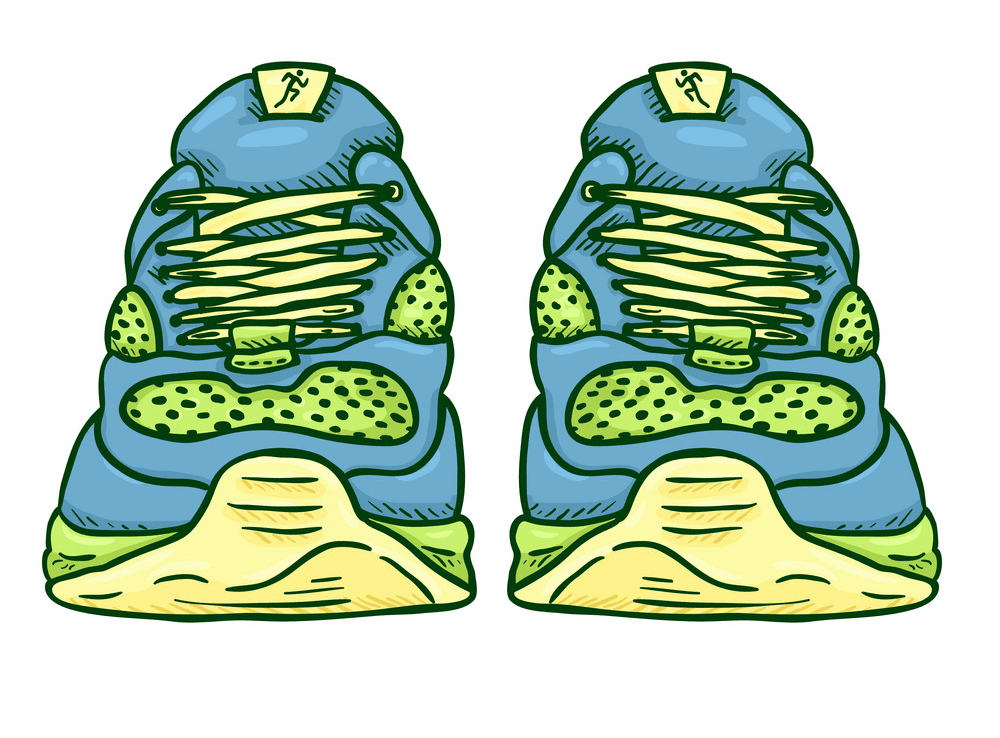 Running Shoes clipart images