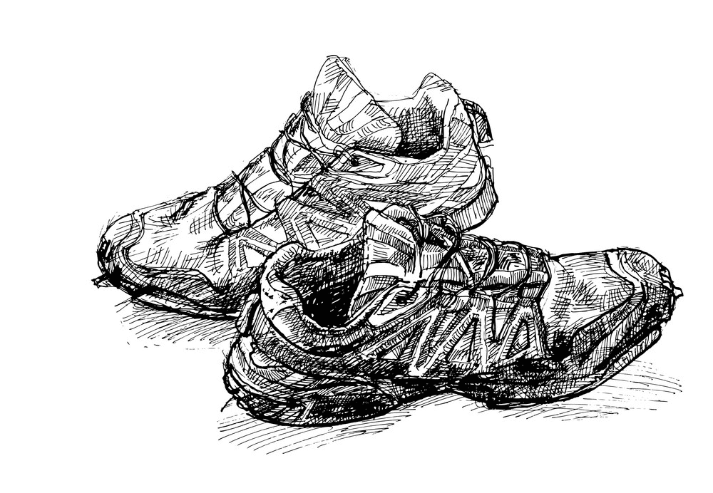 Running Shoes clipart png image