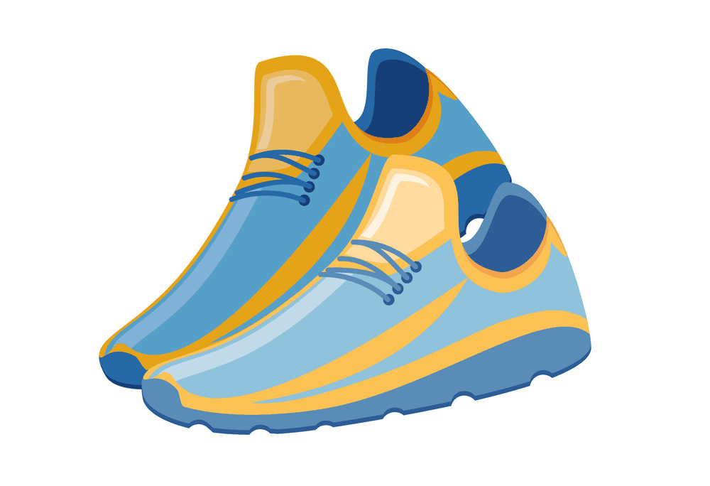 Running Shoes clipart png