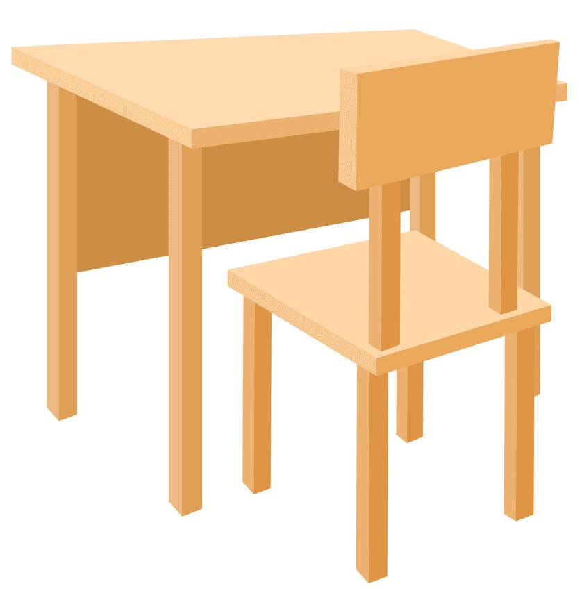 School Desk clipart image