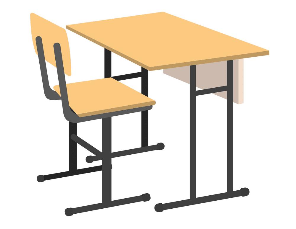 School Desk clipart png