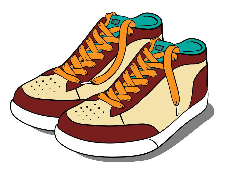 Shoes clipart image
