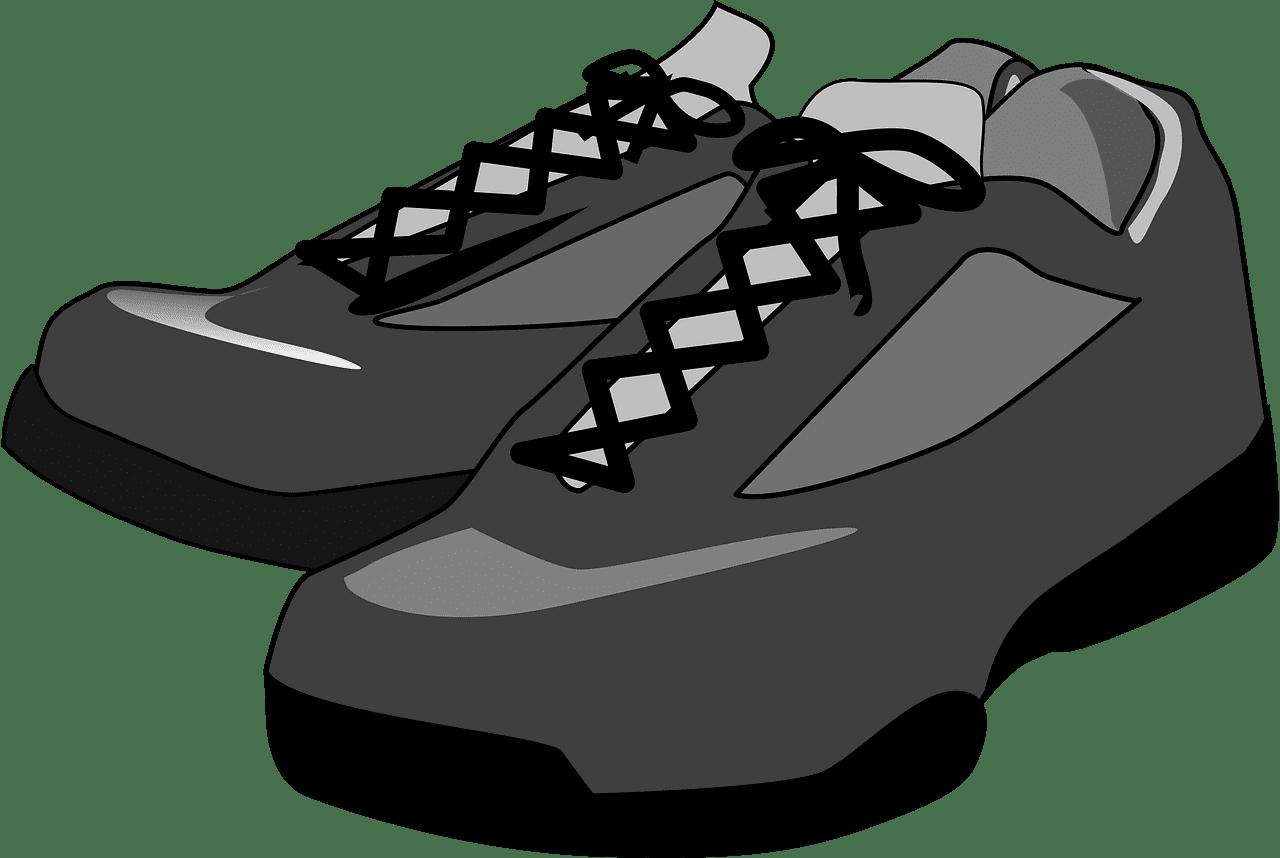 Shoes clipart transparent background 1