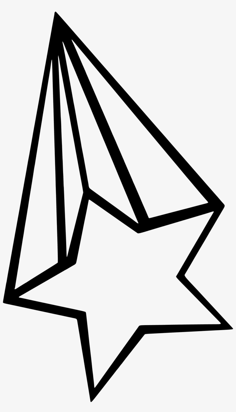 Shooting Star Clipart Black and White free images