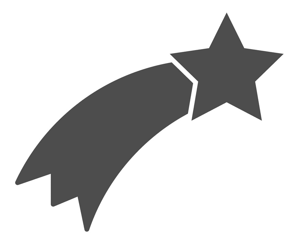 Shooting Star clipart free 2