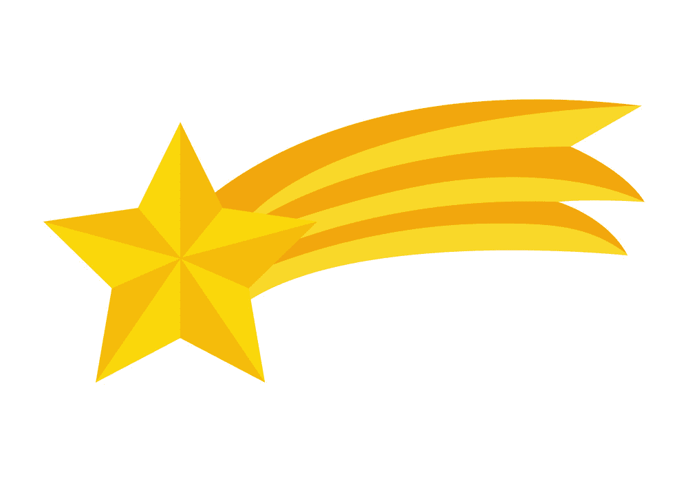 Shooting Star clipart free 9