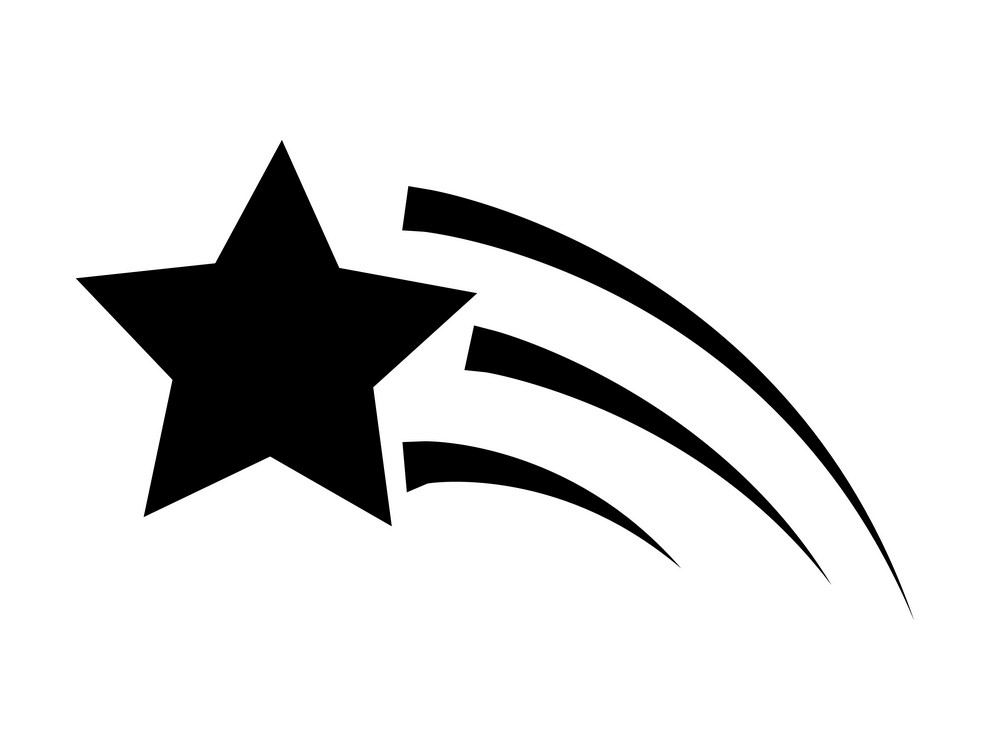 Shooting Star clipart free images