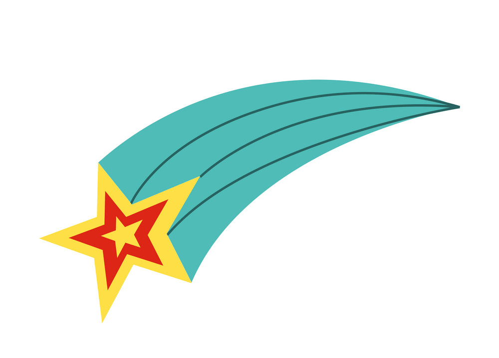 Shooting Star clipart image
