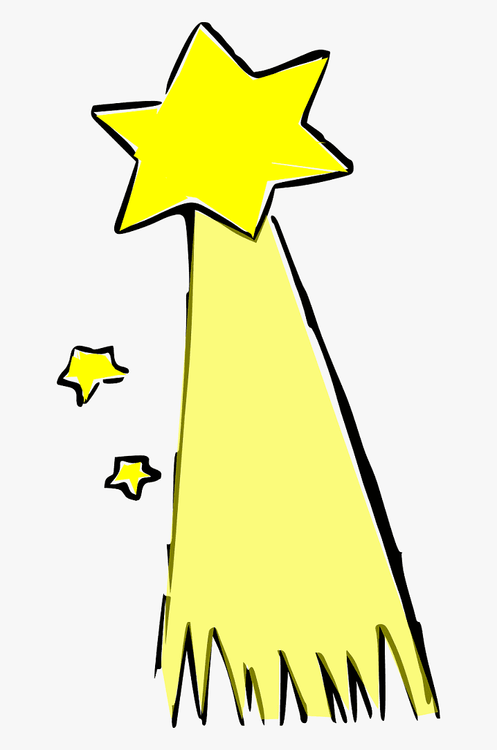 Shooting Star clipart png 10