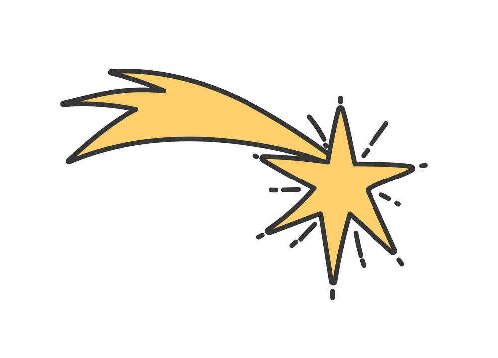 Shooting Star clipart png 2