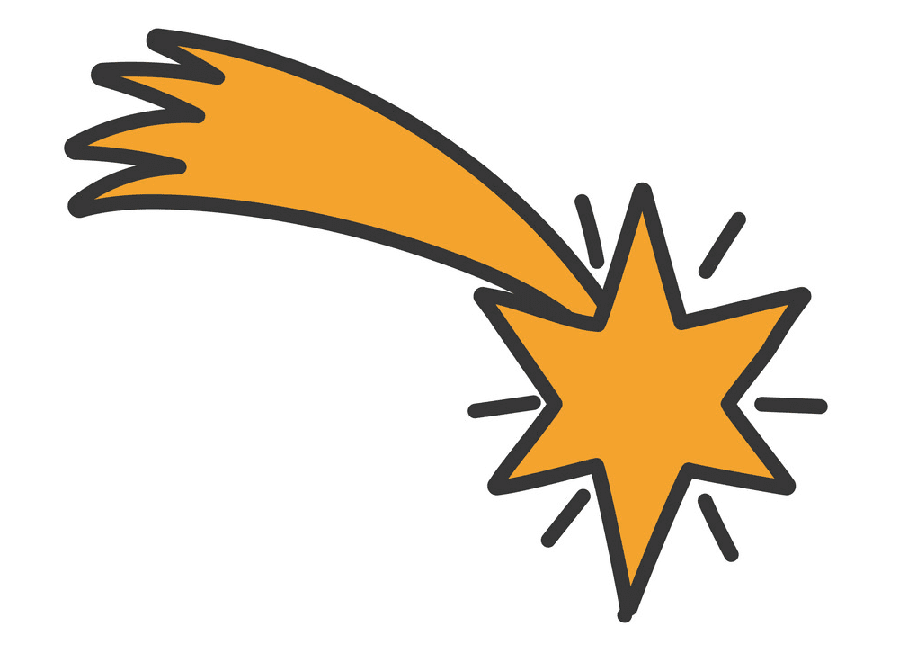 Shooting Star clipart png 4