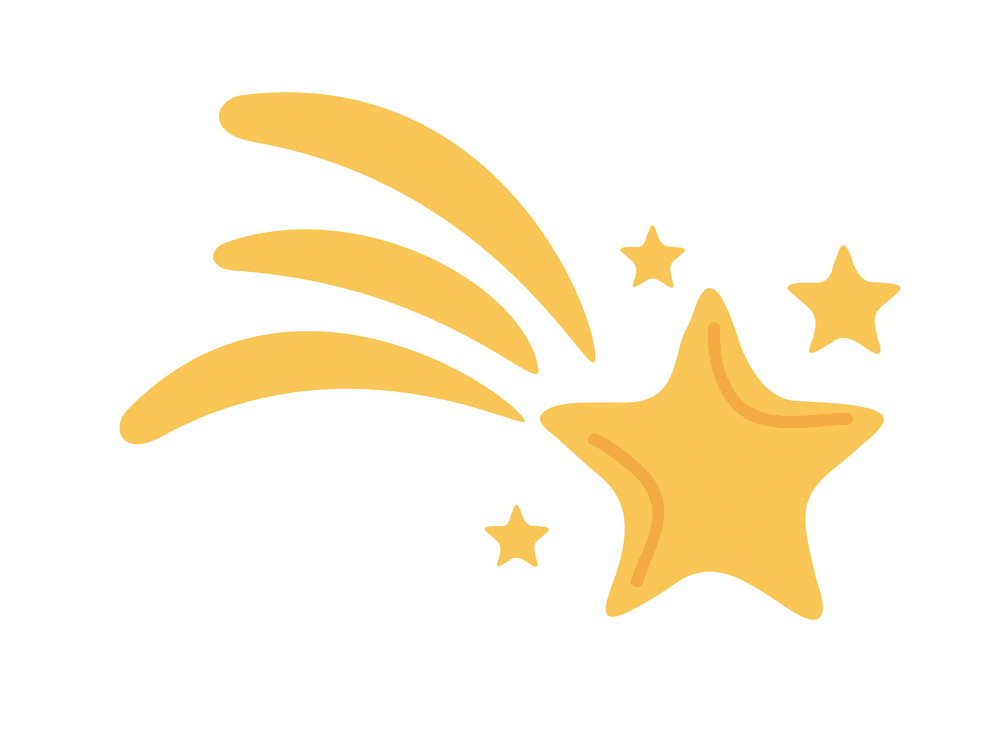 Shooting Star clipart png 5