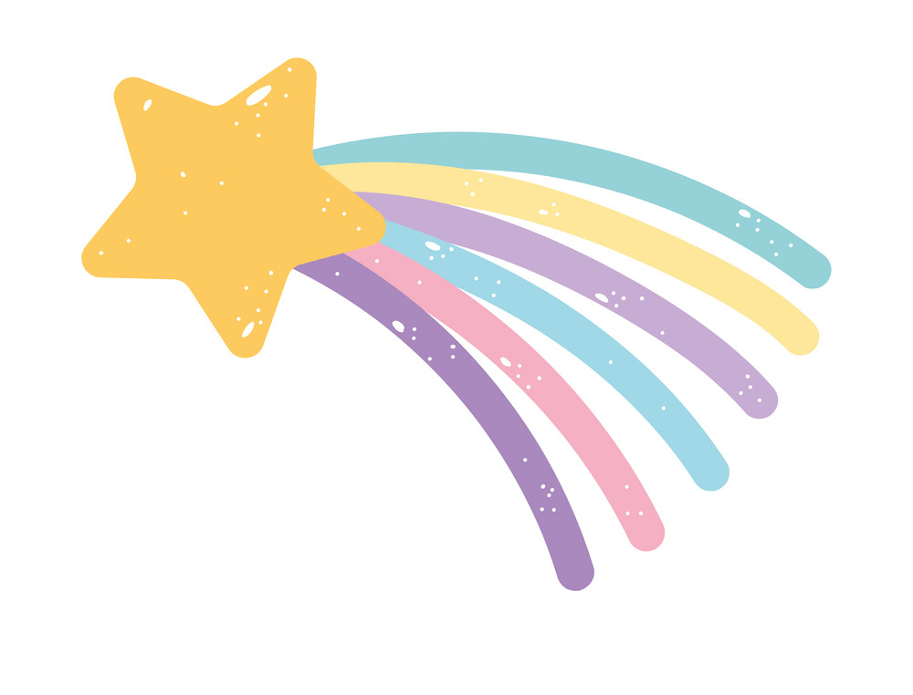 Shooting Star clipart png free