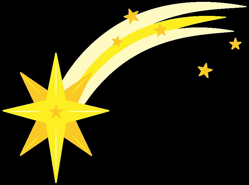 Shooting Star clipart transparent