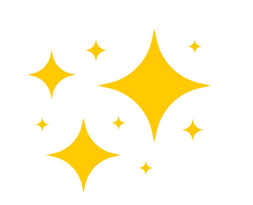Sparkle clipart 3
