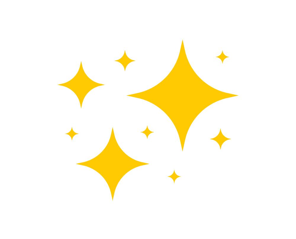 Sparkle clipart 5