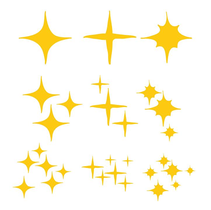 Sparkle clipart 6