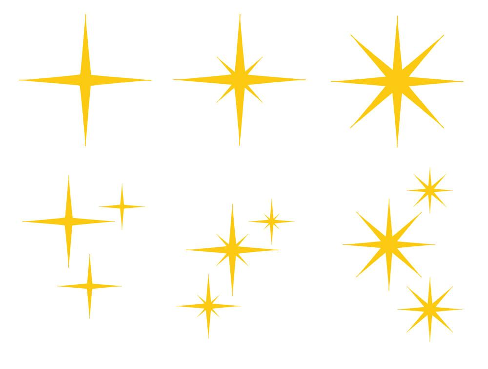 Sparkle clipart 7