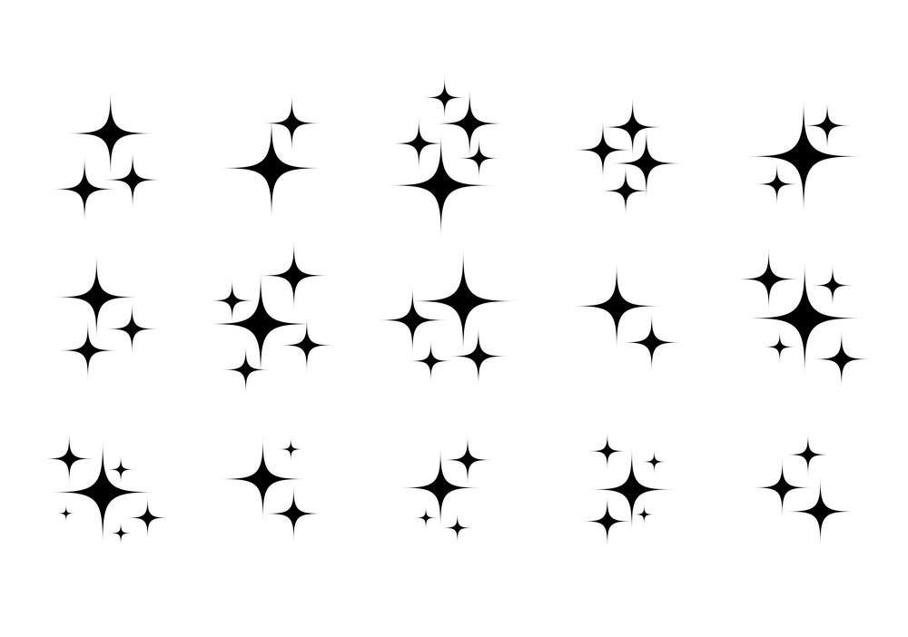 Sparkle clipart free 1