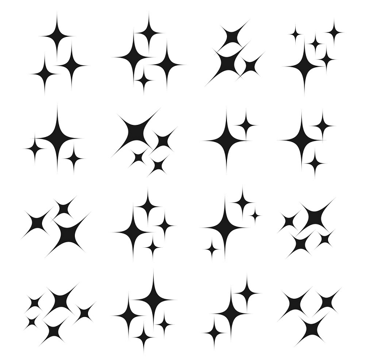 Sparkle clipart free 2