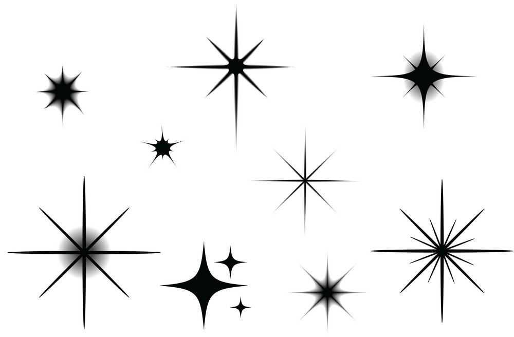 Sparkle clipart free
