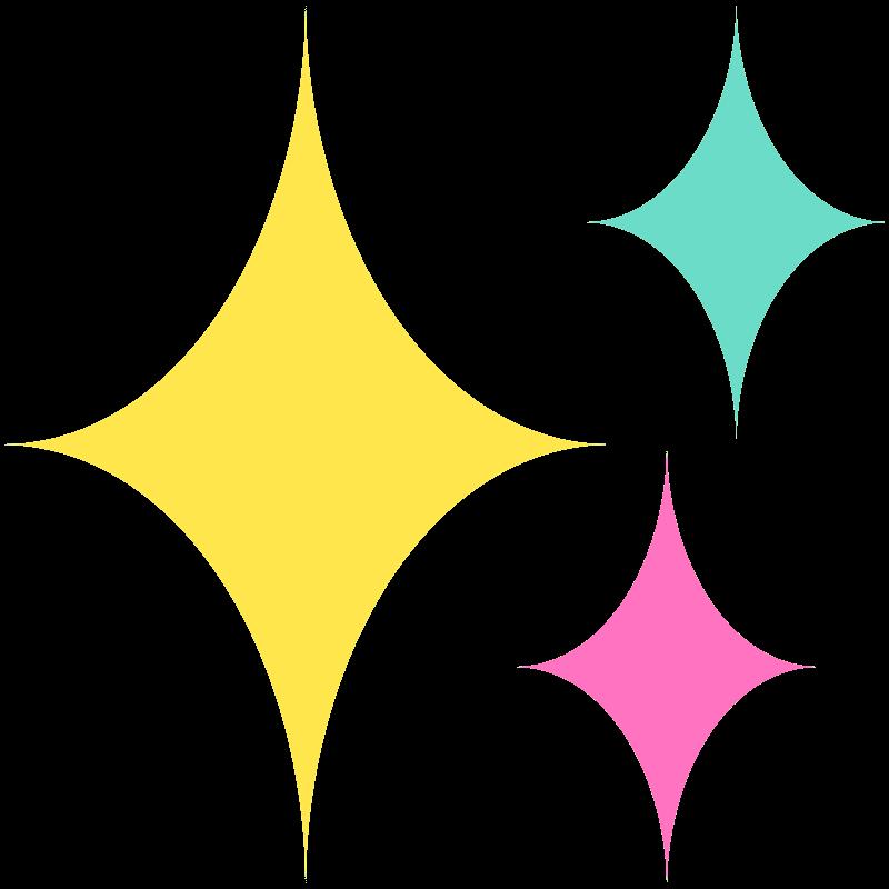 Sparkle clipart transparent 1