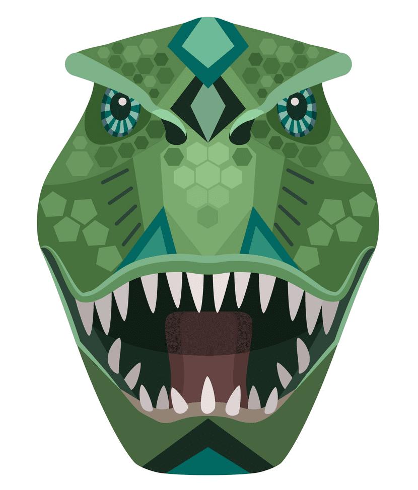 T-Rex Head clipart free image