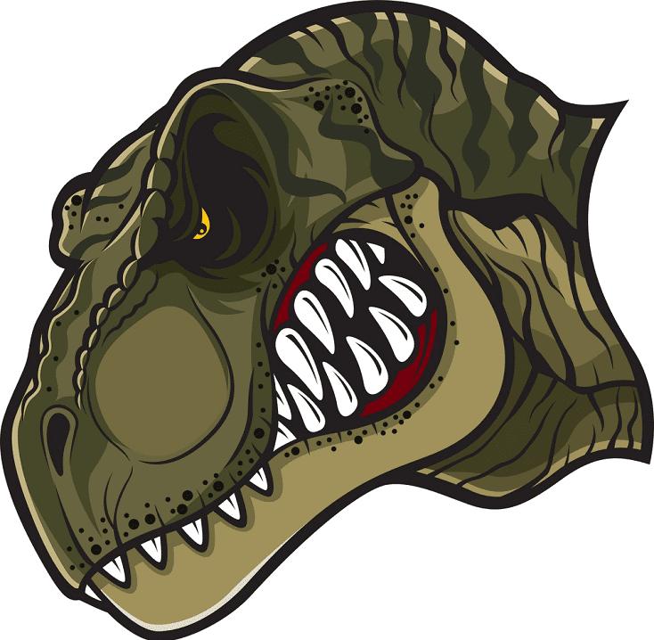 T-Rex Head clipart png