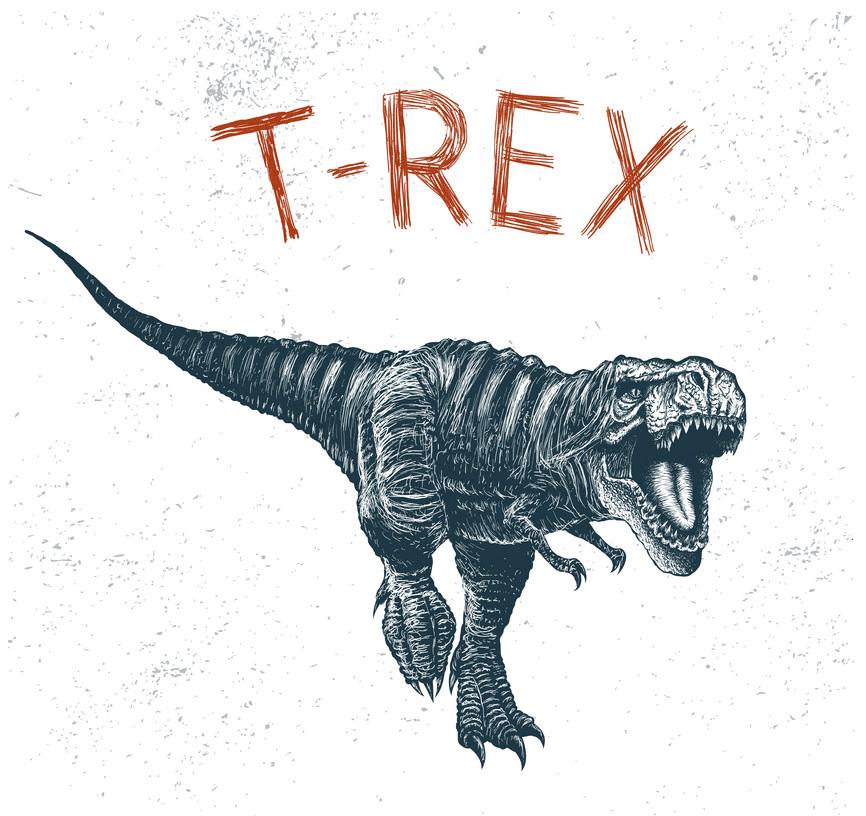 T-Rex clipart 3