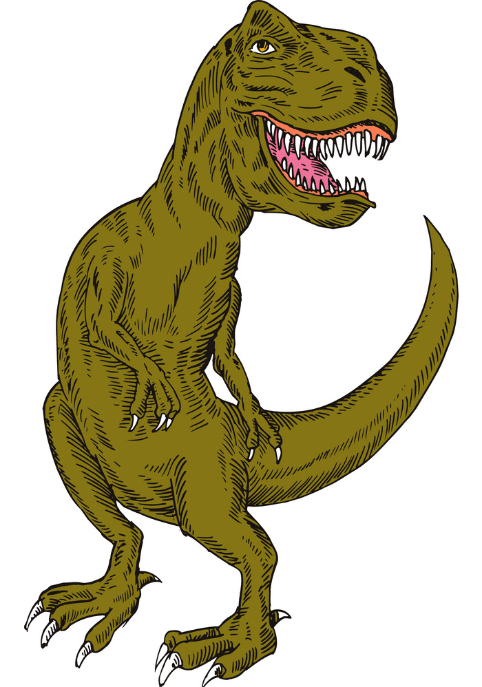 T-Rex clipart for free
