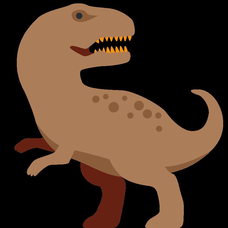 T-Rex clipart transparent 1