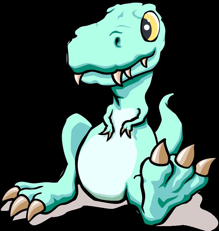 T-Rex clipart transparent background 1