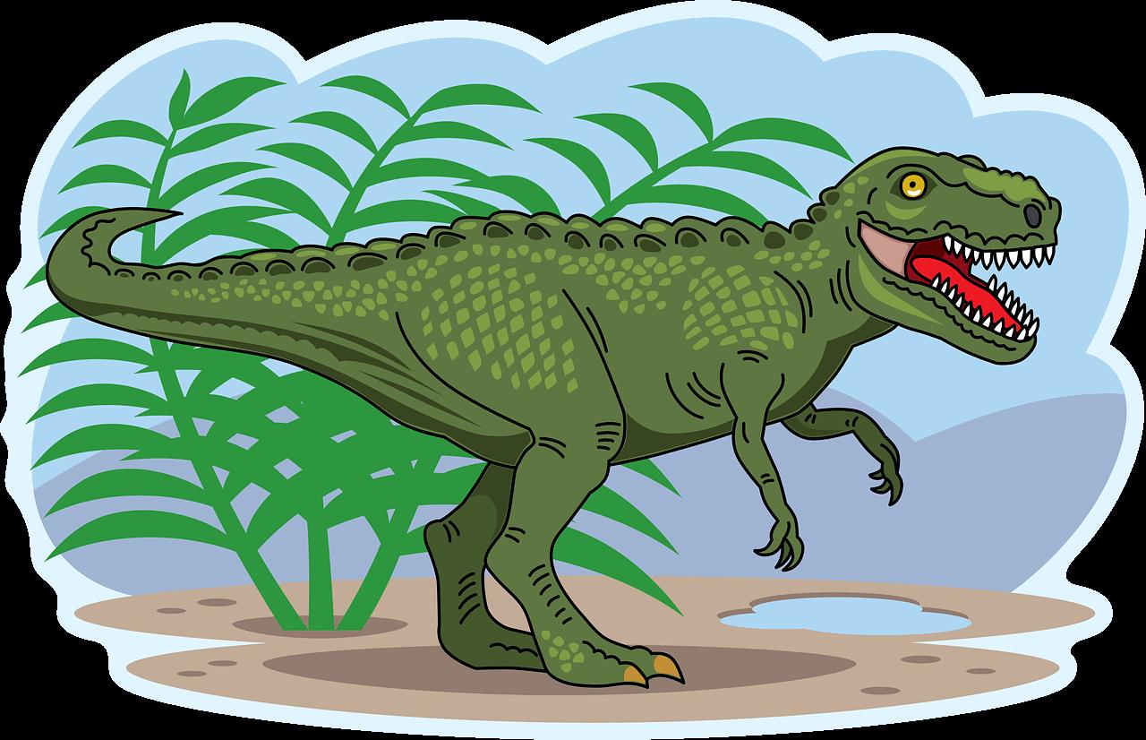 T-Rex clipart transparent background 7