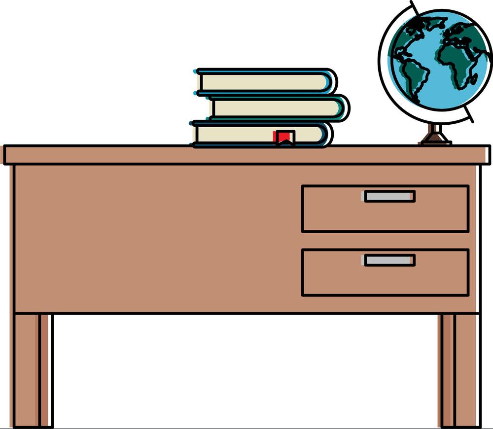 Teacher Desk clipart images