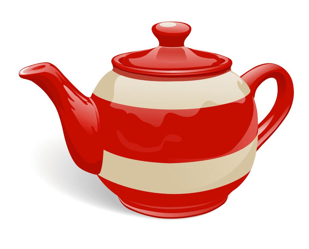 Teapot clipart 1