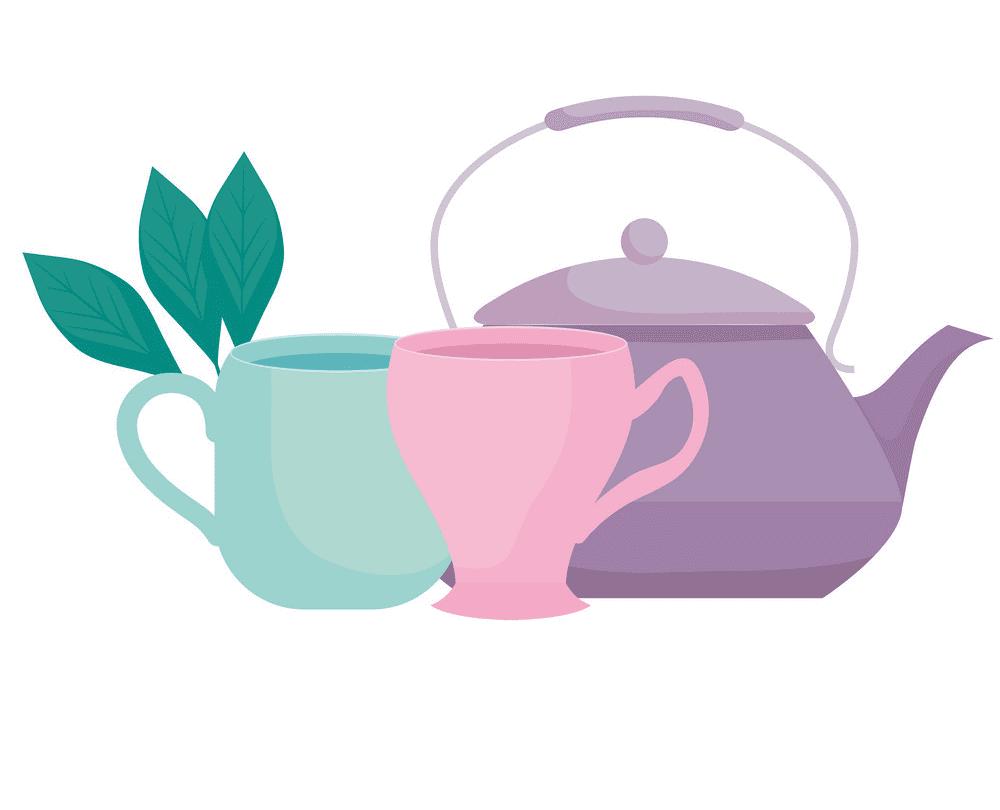 Teapot clipart 2