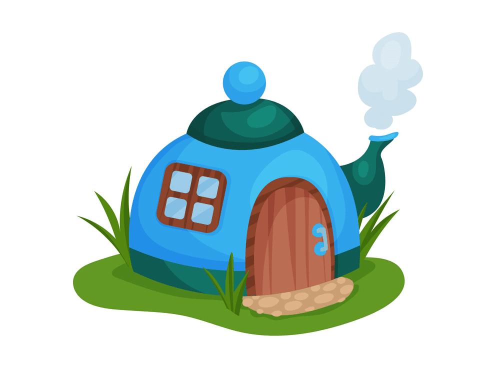 Teapot clipart 3
