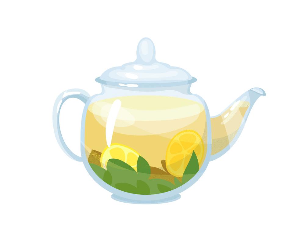 Teapot clipart 4