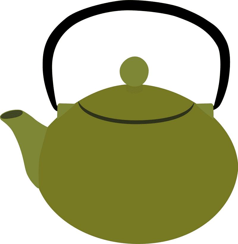 Teapot clipart 5