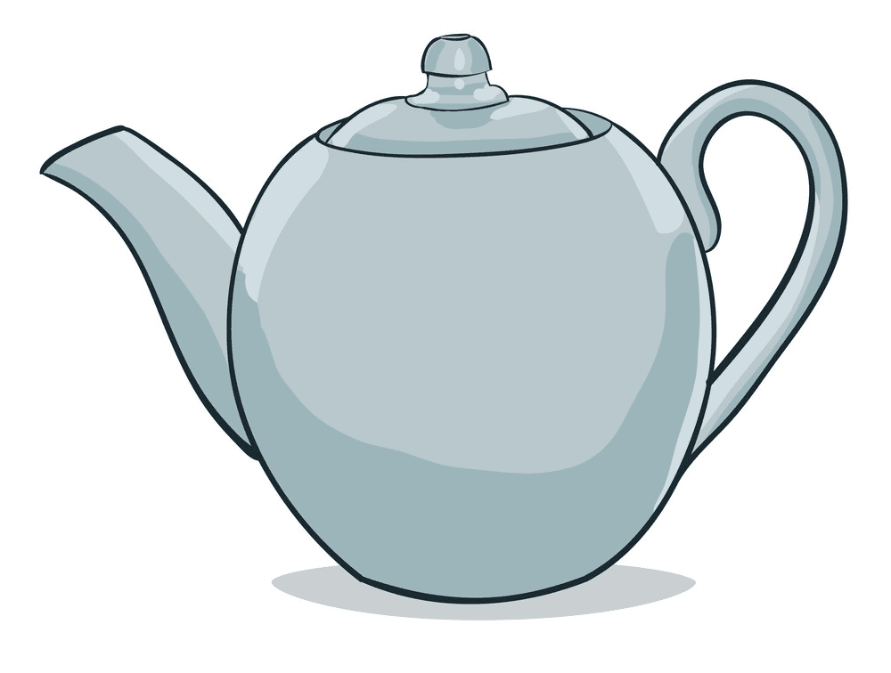 Teapot clipart free 1