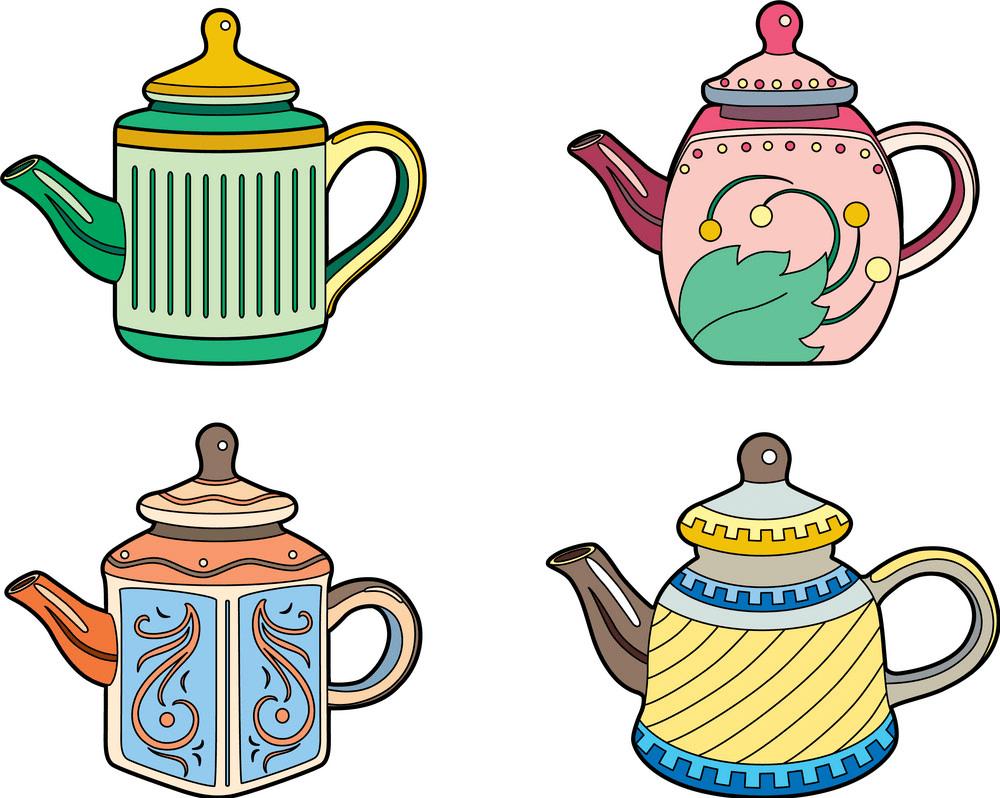 Teapot clipart free 10